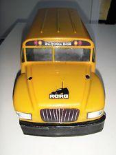 Painted RC Body Shell School Bus 1:10 Traxxas T E Maxx
