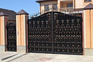 Картинки по запросу красивые ворота для дома фото (с ...