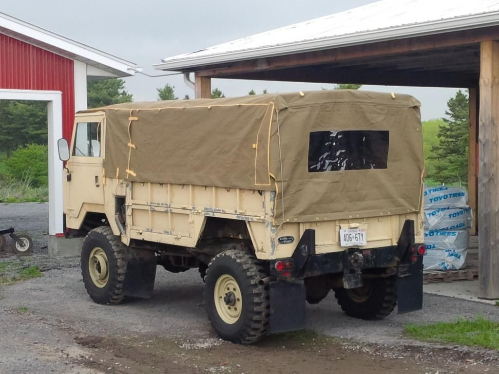mil spec forward control: land rover 101 fc one ton