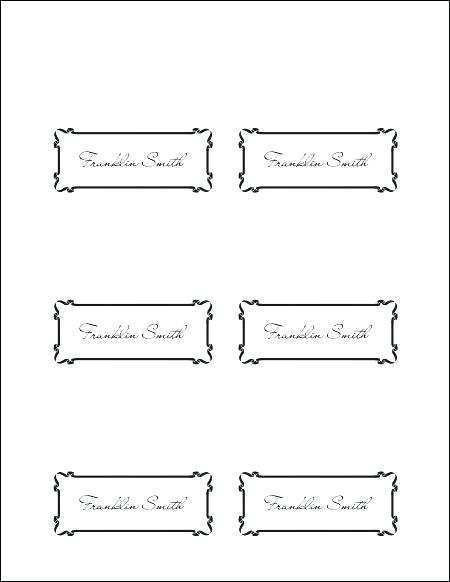 Microsoft Word Tent Place Card Template Cards Design Templates Regarding Quality In 2021 Printable Place Cards Templates Place Card Template Place Card Template Word