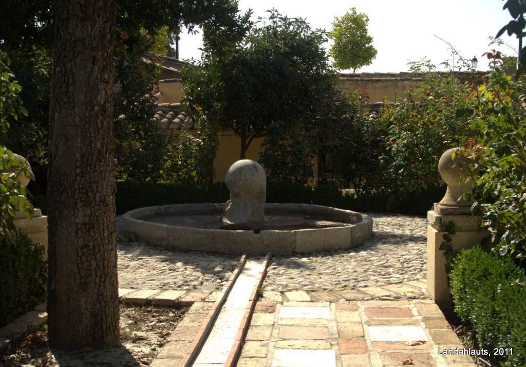 Carmen Del Aljibe Del Rey Outdoor High Walls Outdoor Decor