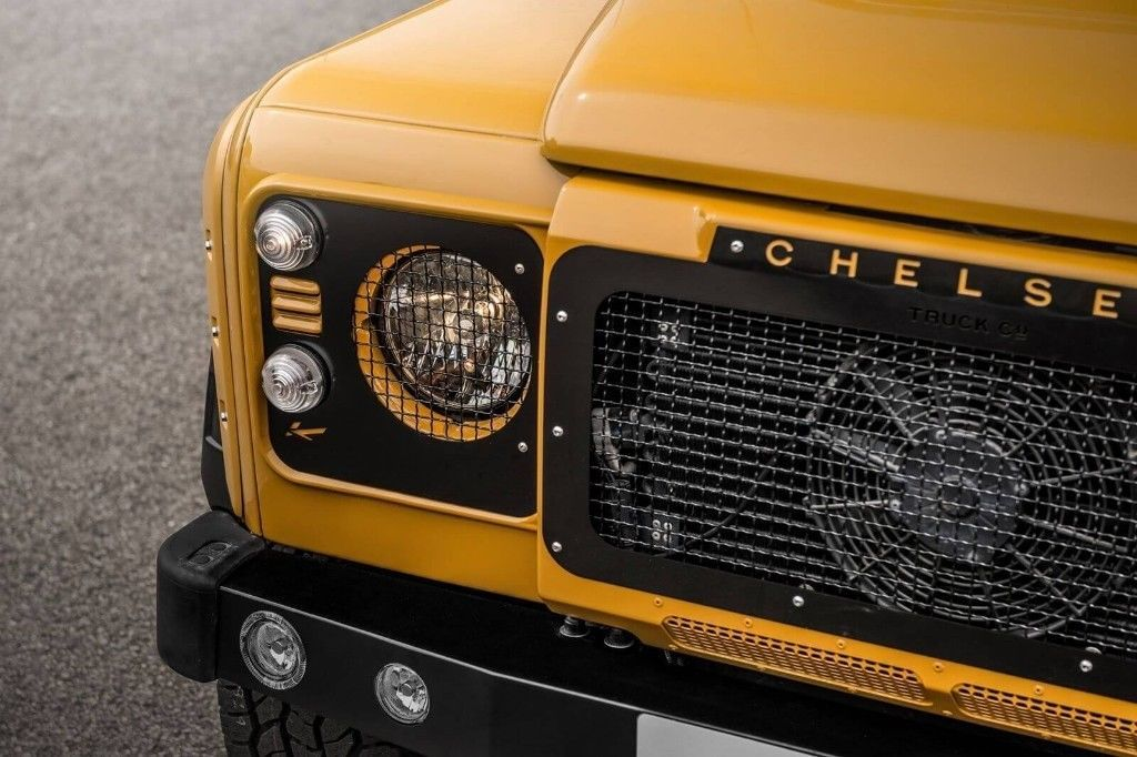 Land Rover Defender Front Grille With Stainless Steel Mesh By Kahn