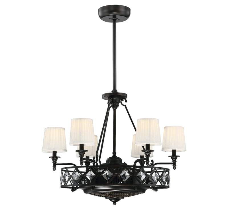 Chandelier Fans Fandeliers And Ionizing Chandelier Ceiling Fans