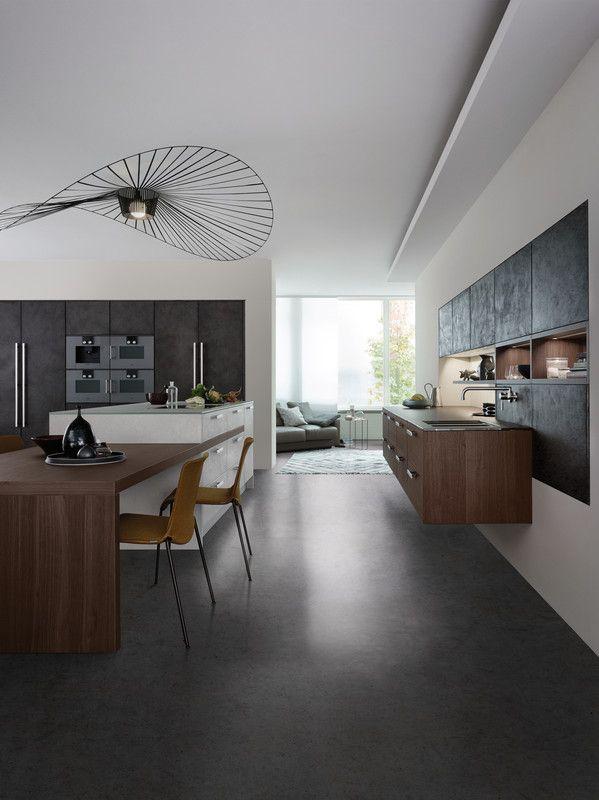 Topos concrete beton modern style küchen küchen marken einbauküchen