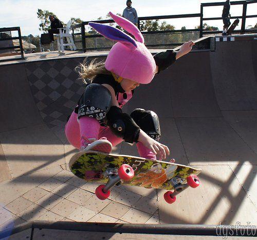 thefrogman: Annika Vrklan, 8 year old pro skateboarder...