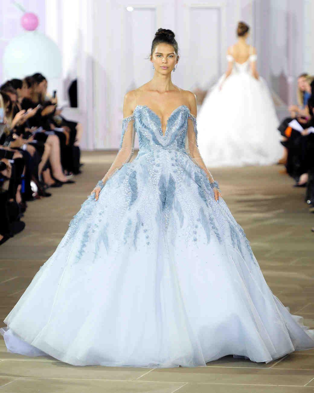 Ines di santo fall wedding dress collection martha stewart