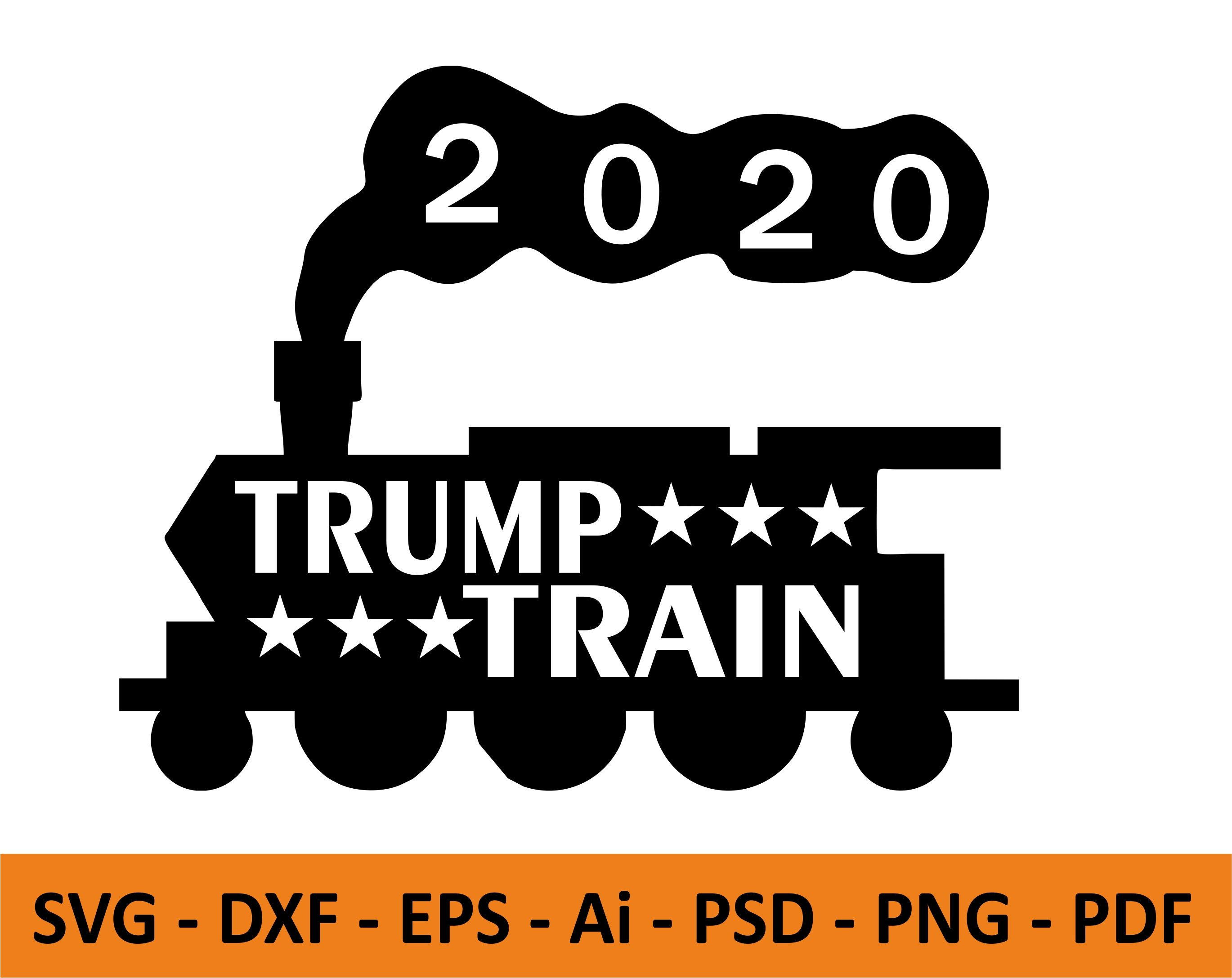 Pin On Trump Train Svg