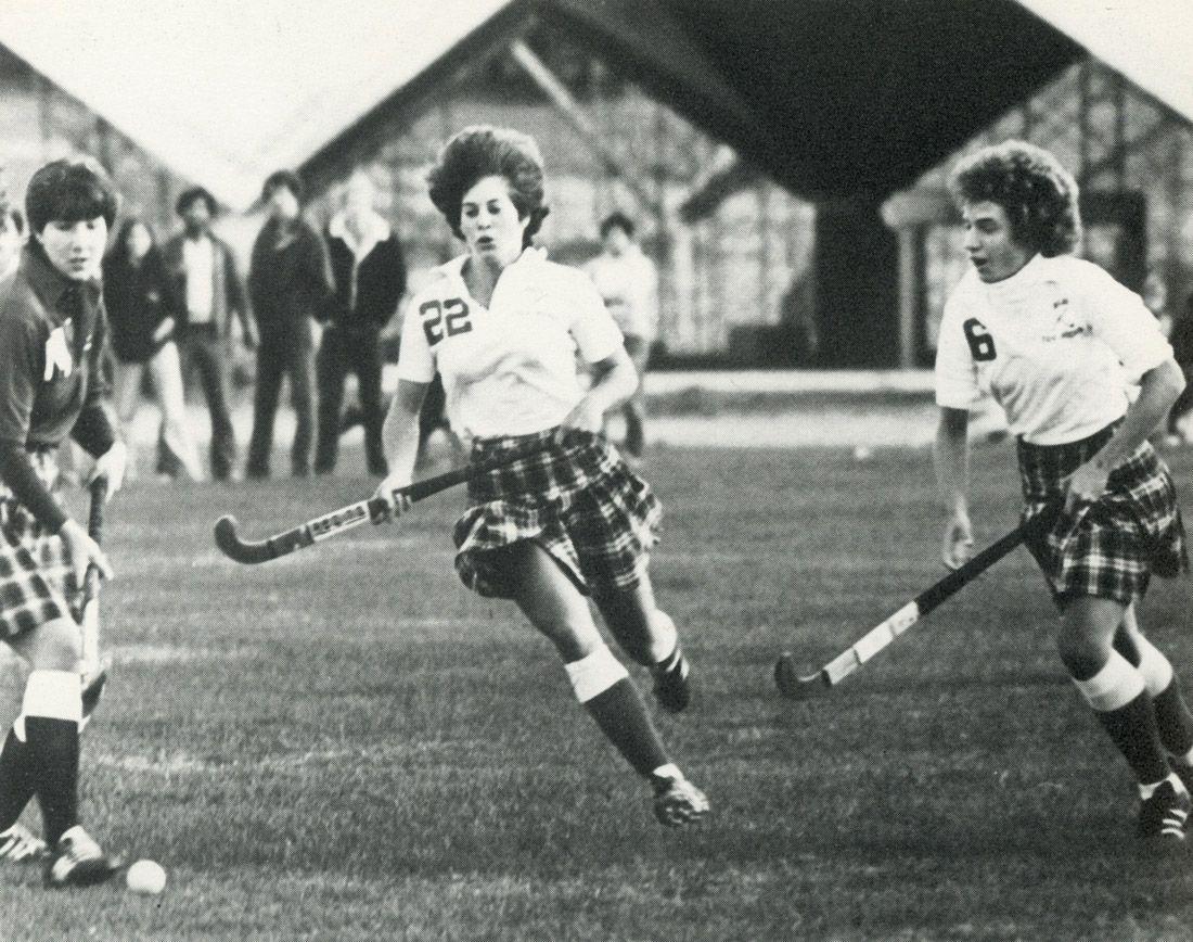 Womens Field Hockey In 1982