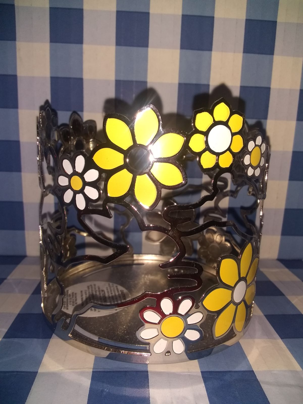 Brand new unused bath and body works 3 wick candle holder