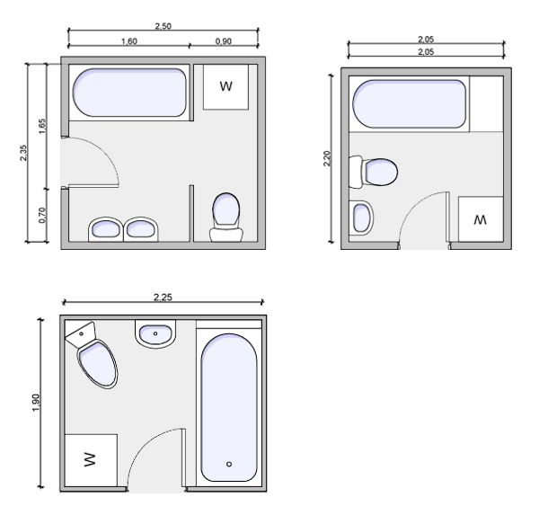 Gallery Website Fantastic Small Bathroom Floor Plans Small Bathroom Floor Plans And Bathroom And Walk In Closet Designs