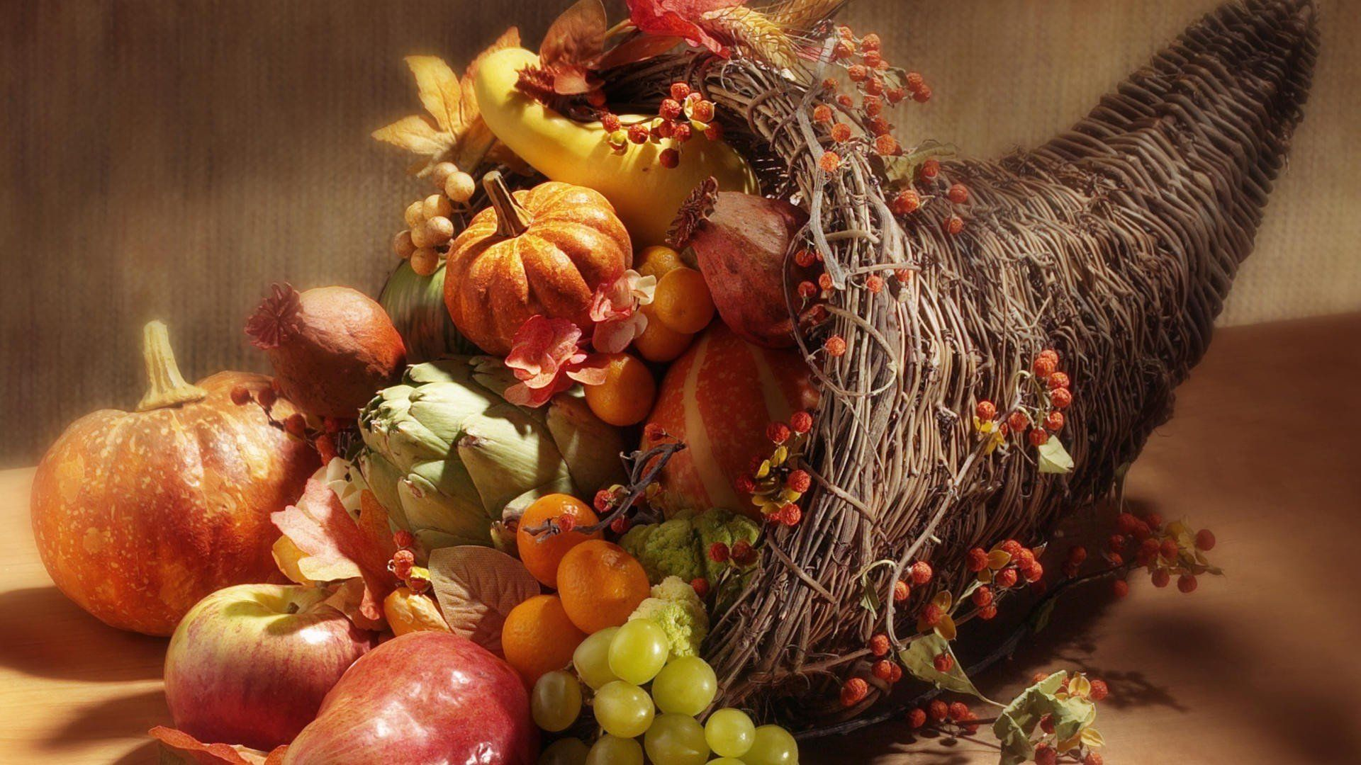 Cornucopia Wallpapers Thanksgiving cornucopia, Holidays