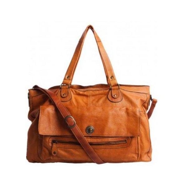Sac cabas Pieces Cognac Travel Bag TOTALLY ROYAL Cuir en