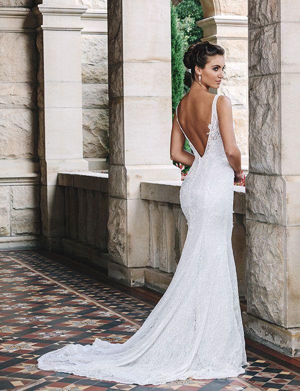 All About The Back 11 Stunning Wedding Gowns Queensland Brides Stylish Wedding Dresses Wedding Dresses Victoria Wedding Dress