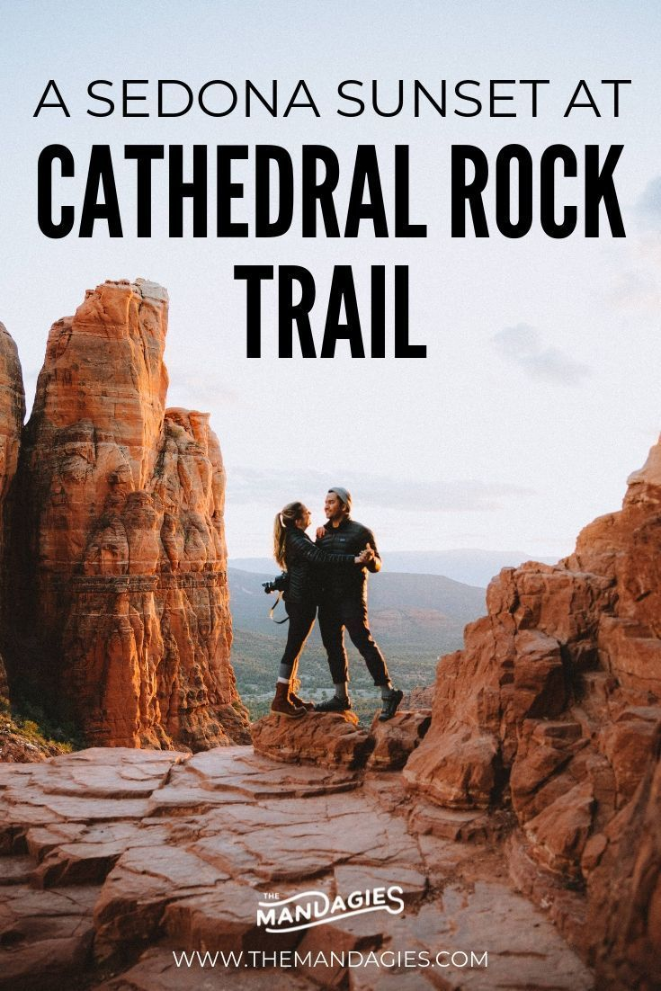 Hike Cathedral Rock Trail In Sedona During Sunset To Kick Off This Epic Outdoor Season - The Mandagies -  Hike Cathedral Rock Trail In Sedona During Sunset To Kick Off This Epic Outdoor Season – The Mand - #AdventureTravel #BudgetTravel #cathedral #during #Epic #Hike #Kick #mandagies #outdoor #Rock #season #sedona #sunset #trail #TravelPhotos