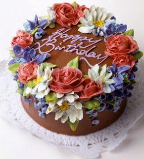 Pin Di Birthday Cake