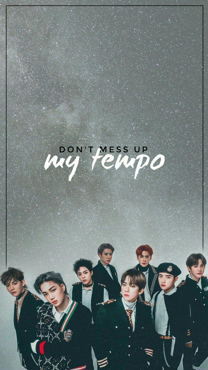 Exo Wallpaper On In 2018 Exo Exo Exo Lockscreen Kpop Exo