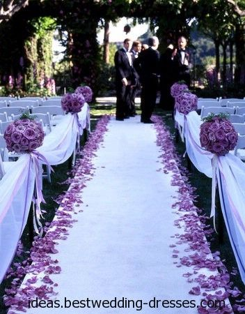 Photos Of Glamorous Silver And Purple Weddings This Is Very Beautiful Decoration Its Light