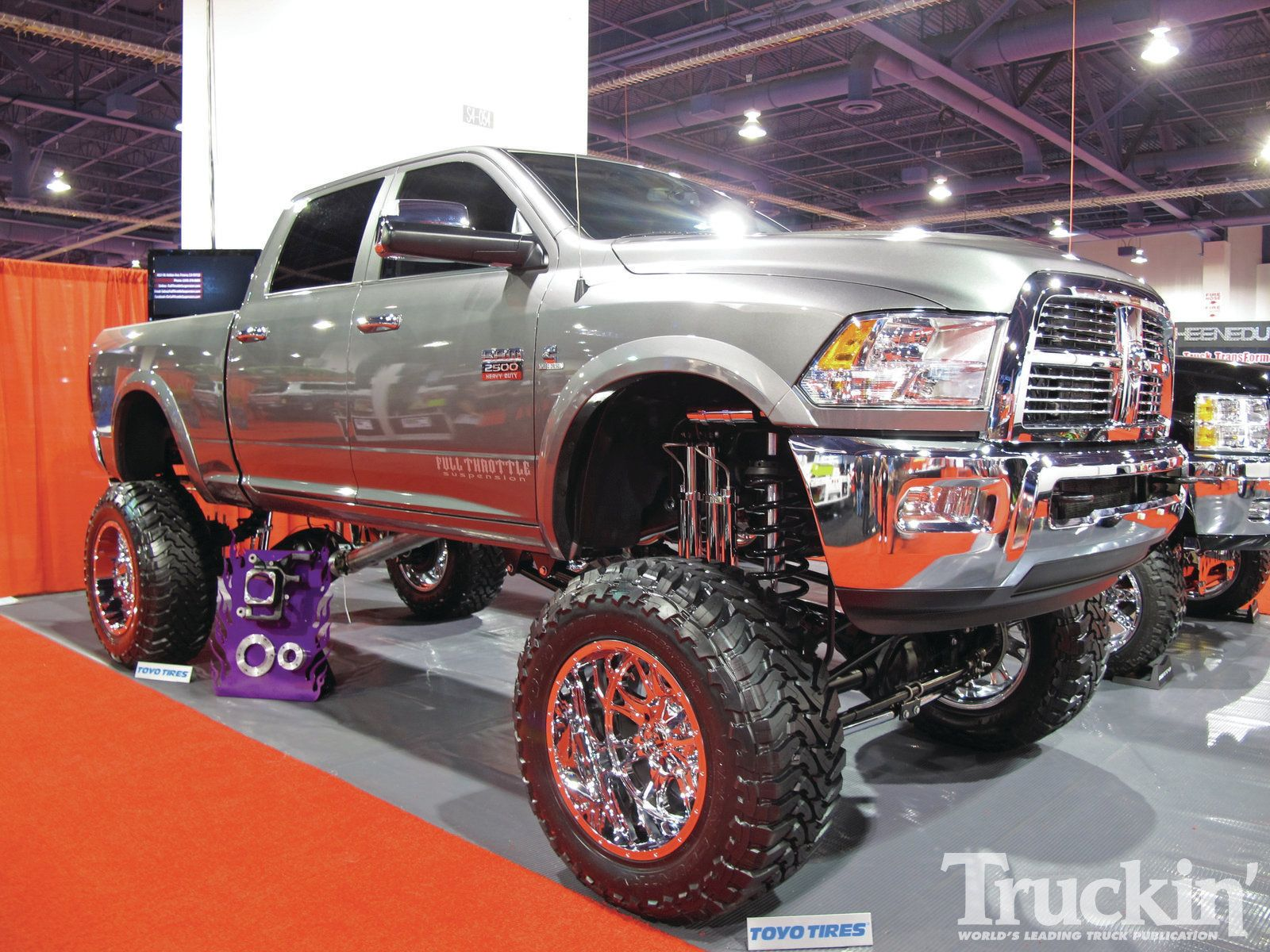 1204tr 272011 sema custom trucksdodge ram - Dodge Ram 2014 Lifted