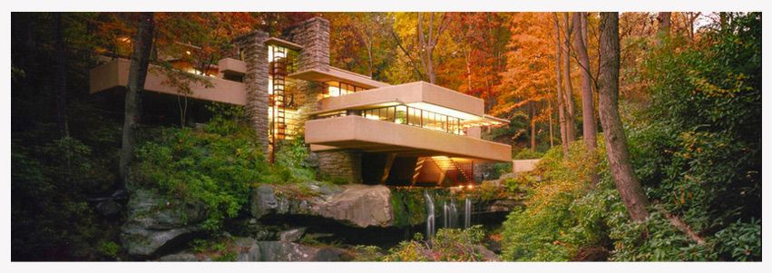 Falling Water By Frank Lloyd Wright Fallingwater Or Kaufmann Residence Is A House Designed By Architect Frank Lloyd Wright In  In Rural Southwestern