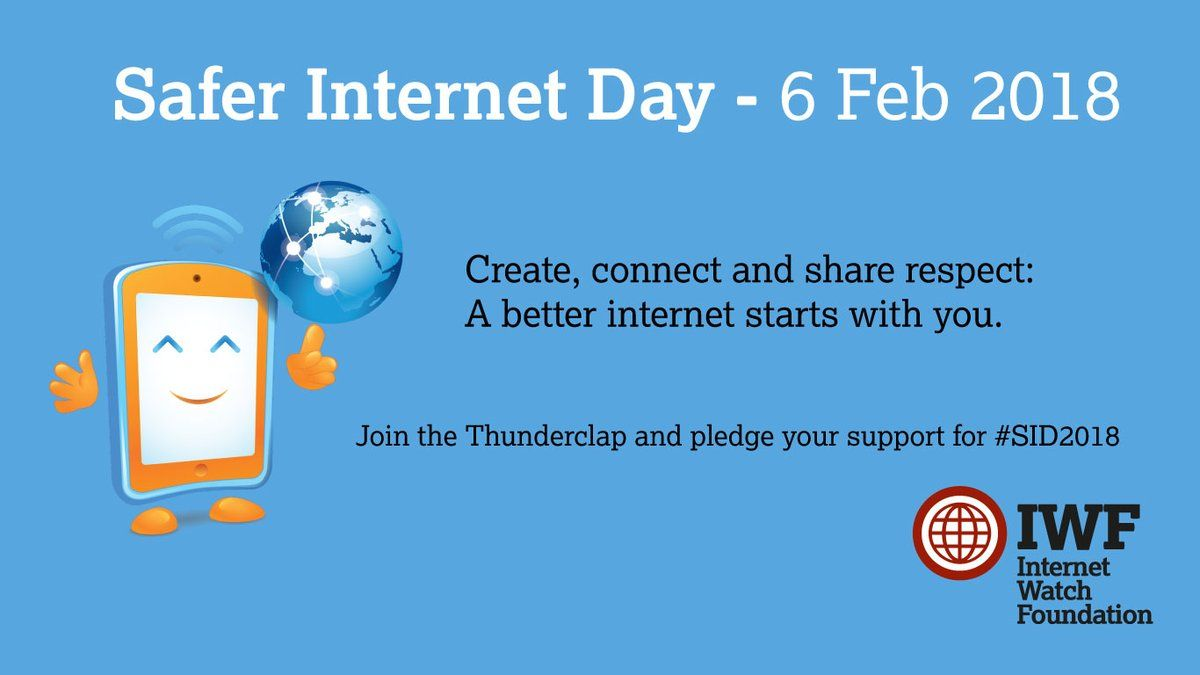 Get Involved In Safer Internet Day Find Out More About How You Can Join The Sid2018 Social Media Campaign Safe Internet Social Media Social Media Campaign