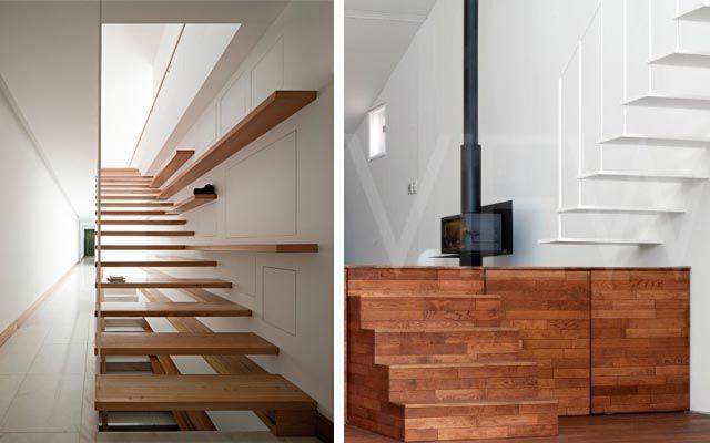 decoracin de escaleras voladas decofiliacom casa de montaa pinterest blog