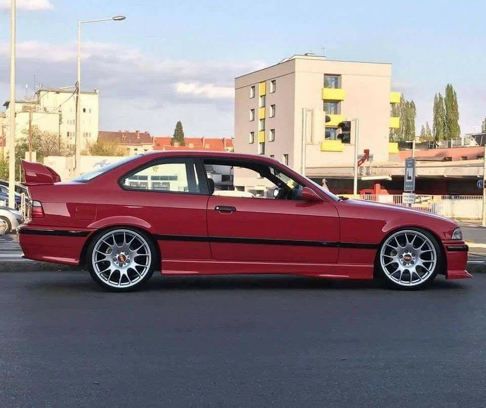 Bmw E36, Bmw E36 Drift, Bmw Red