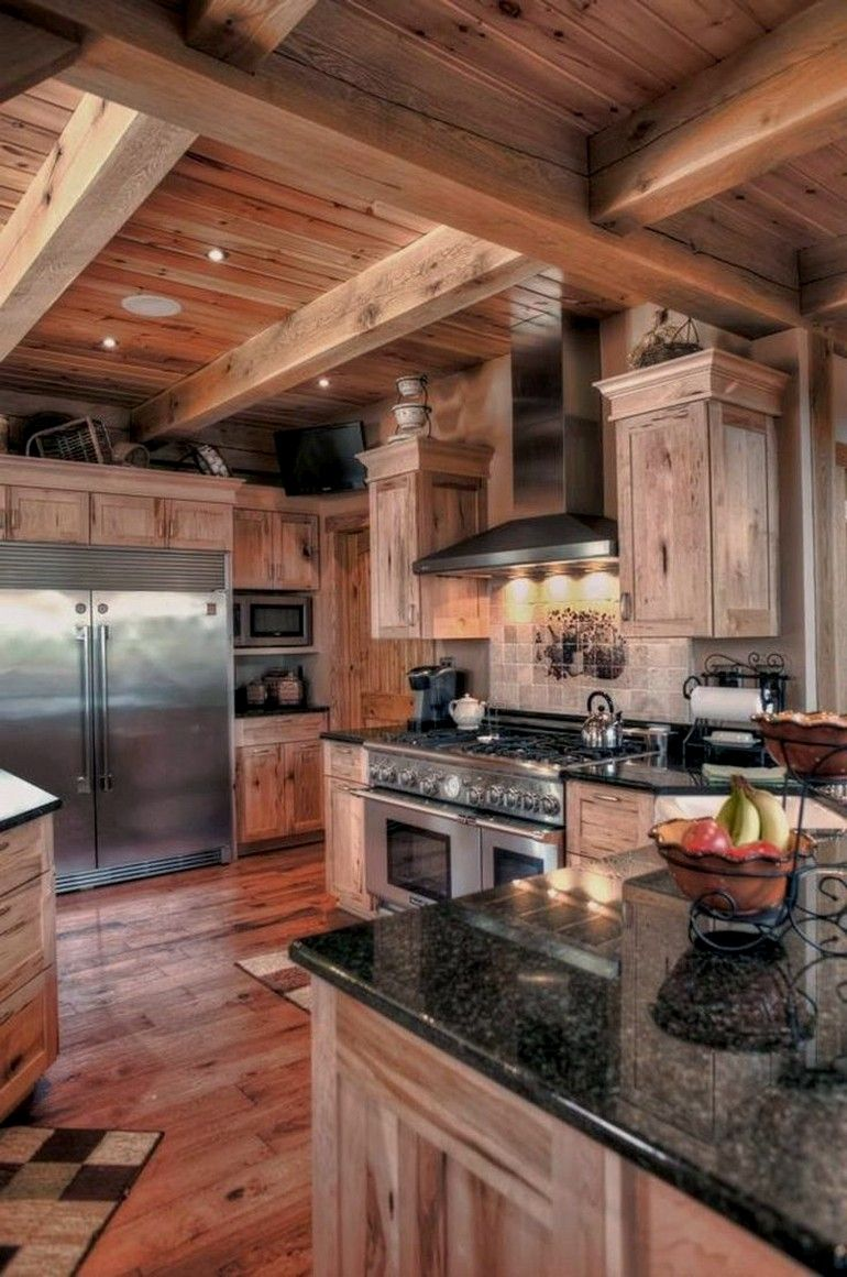 36 Rustic Countertops That Will Make