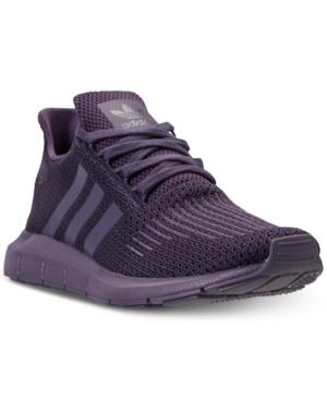 593464075de adidas Women s Swift Run Casual Sneakers from Finish Line - Purple ...