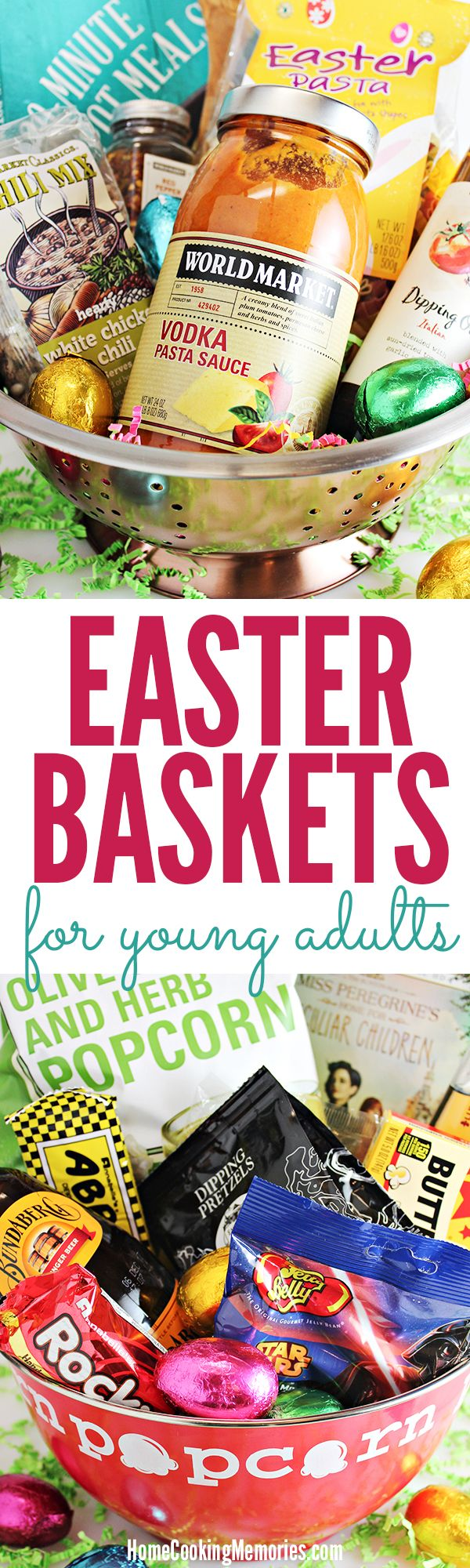 3 easter basket ideas for young adults or older teens basket tips inspiration for creating diy easter basket ideas for young adults or older teens negle Choice Image