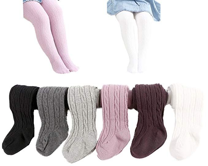 dadd523a7 Amazon.com  Epeius Unisex-Baby 3 Pair Pack Seamless Cable Knit Knee High  Socks Infant Boys Girls Uniform Stockings for 3-12 Months