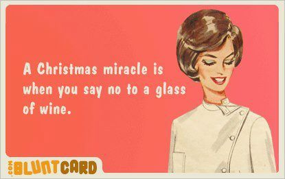 #christmas #miracle #wine #glass