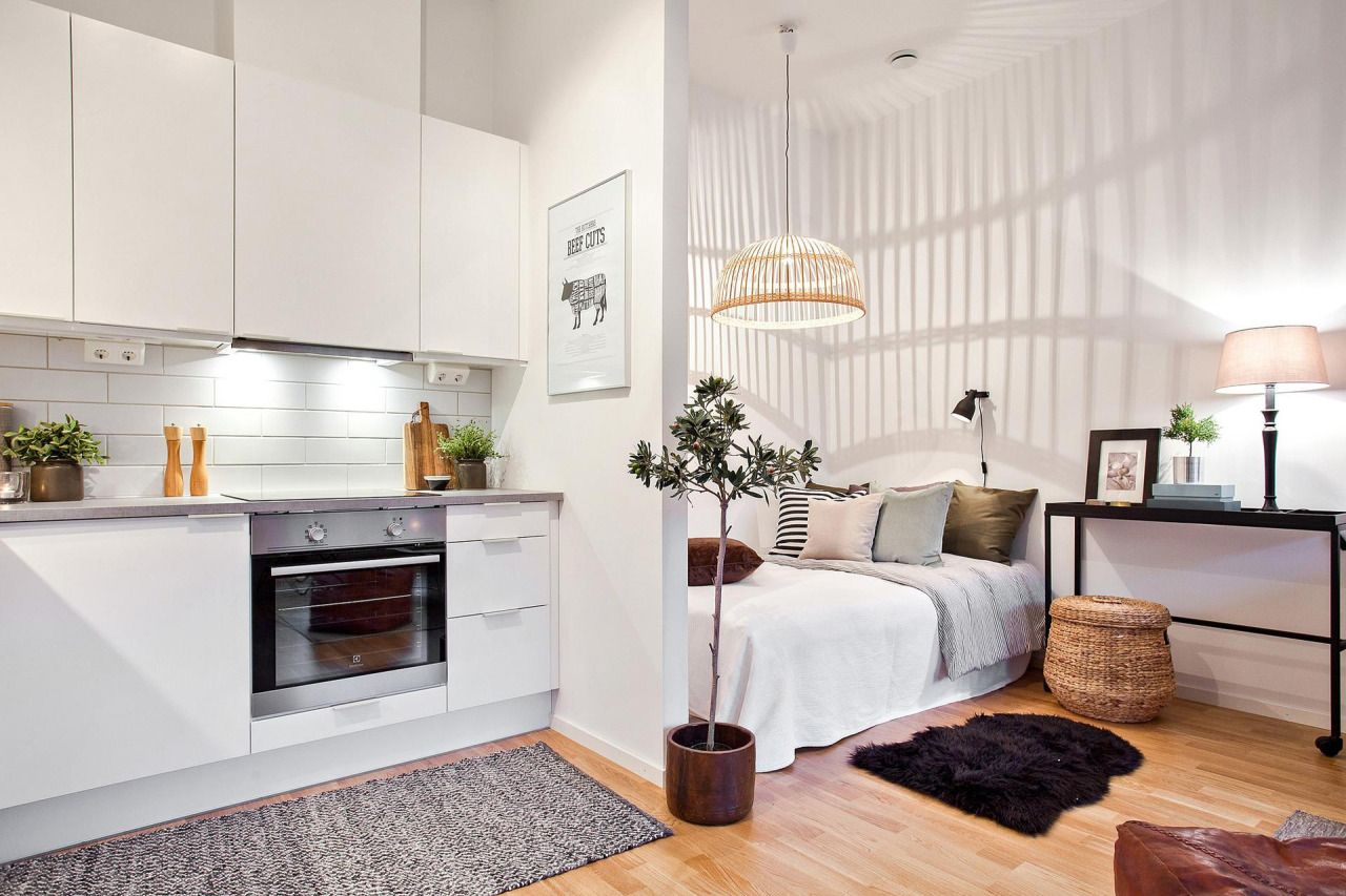 source svensk fastighetsf rmedling interior pinterest studio apartment apartments and studio. Black Bedroom Furniture Sets. Home Design Ideas
