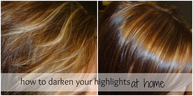 Ever Have A Bad Highlight Job Here Are The Steps To Fix It On Your Own At Home Highlights Diy Hair Color Dark Hair With Highlights