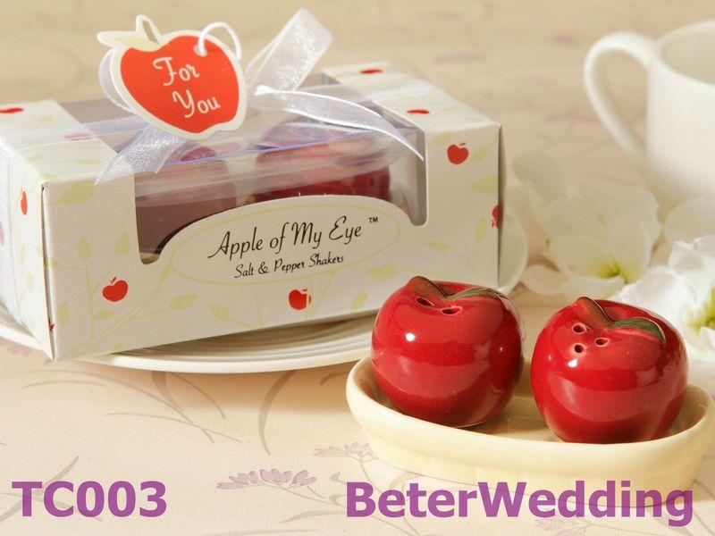 Pomme de mes yeux coqueteliers c ramique sel poivre beter tc003 cadeaux de mariage cadeaux - Pomme ceramique pour decoration ...