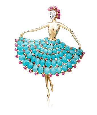 Van Cleef & Arpels Ballerina Clip 1952
