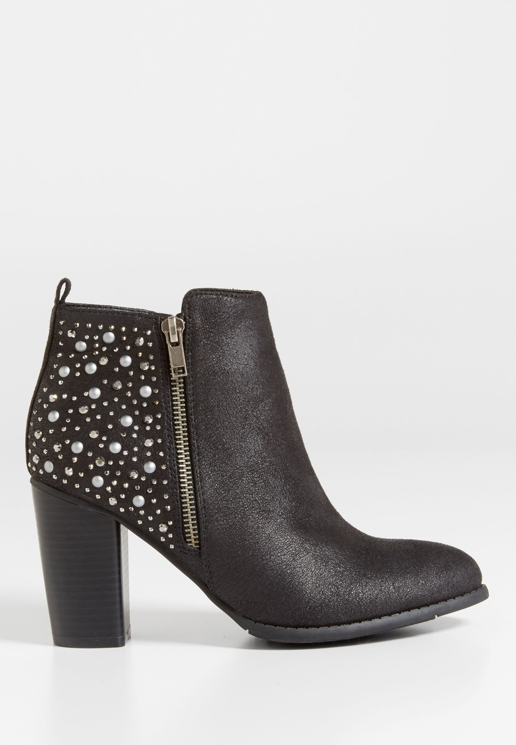 630ede46826f9 Brandy embellished heeled bootie (original price