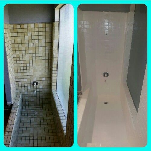 Shower Makeover Using Rustoleum Tub And Tile Paint Turned Out Perfect