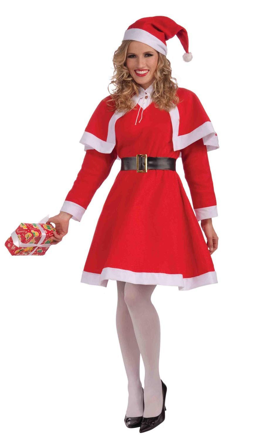 Mrs Santa Claus Adult Female Christmas Costume -6460