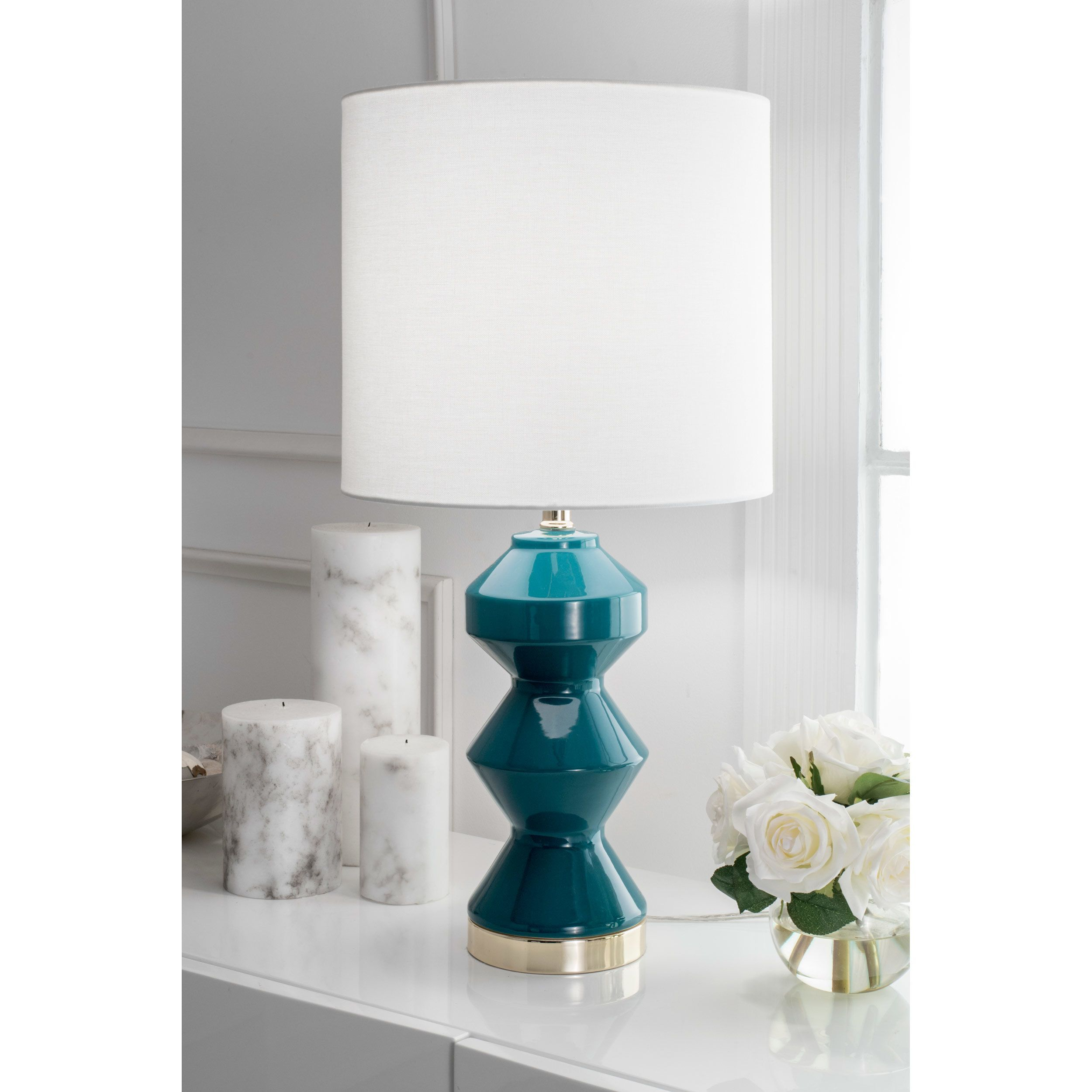 shadesmainstay lampsgreen lamps of shade astounding lamp size contemporary room full living blue green tag for ceramic table shades shadessmall photo teal design bell