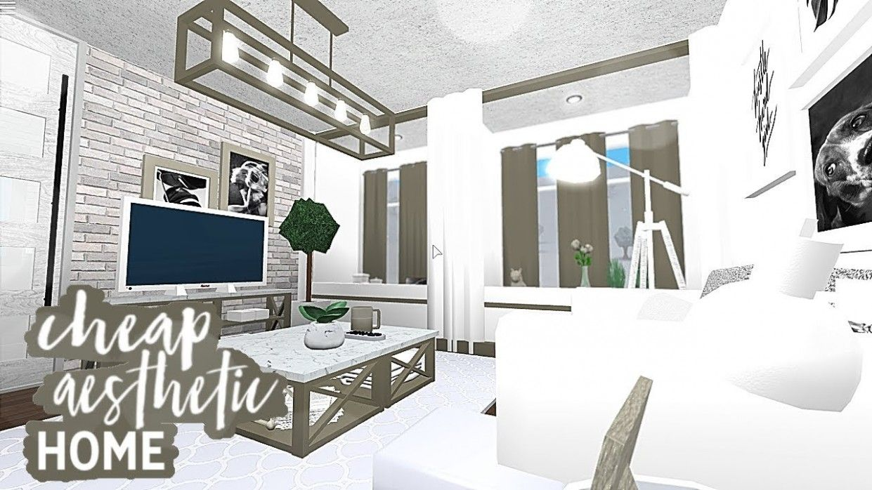 Five Ingenious Ways You Can Do With Living Room Ideas Bloxburg Modern Family House Family House Plans Aesthetic Rooms