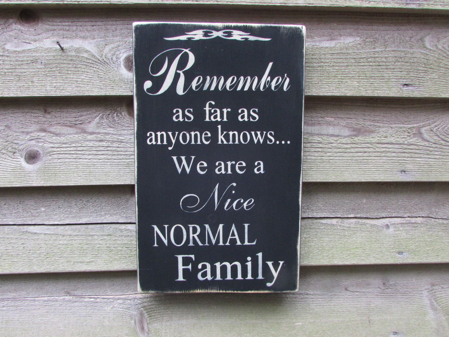 Country Home Decor Wood Signs Family Rules Primitive