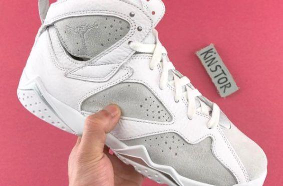 Buy Cheap Online Nike Air Jordan 7 Cheap sale Neutral Grey Miner