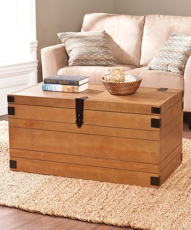 Another great find on zulily Notch Groove Trunk Cocktail Table