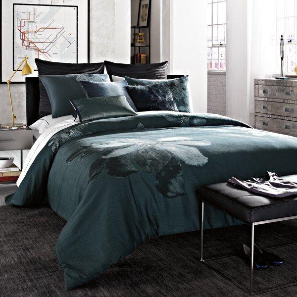Kenneth Cole Reaction Home Etched Floral Comforter Set 100