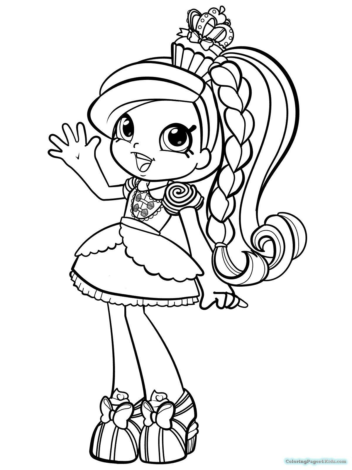 Printable Coloring Pages For Children Coloring Pages Lol Dolls To Color And Print Anim Shopkin Coloring Pages Shopkins Colouring Pages Ballerina Coloring Pages