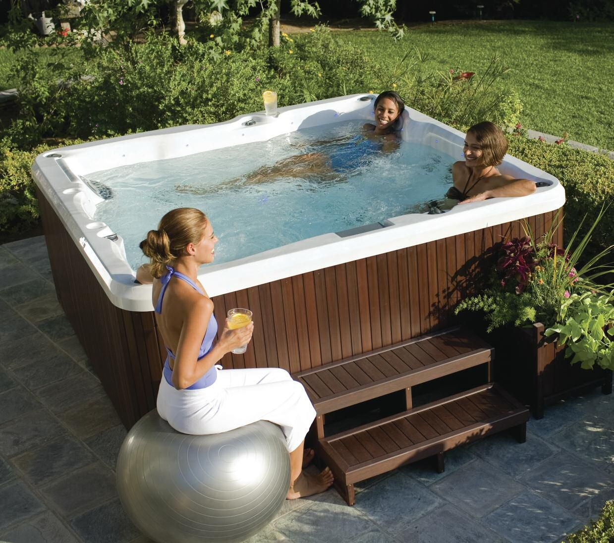 Relax - Enjoy a glass or two with friends | Jacuzzi Brand Hot Tubs ...