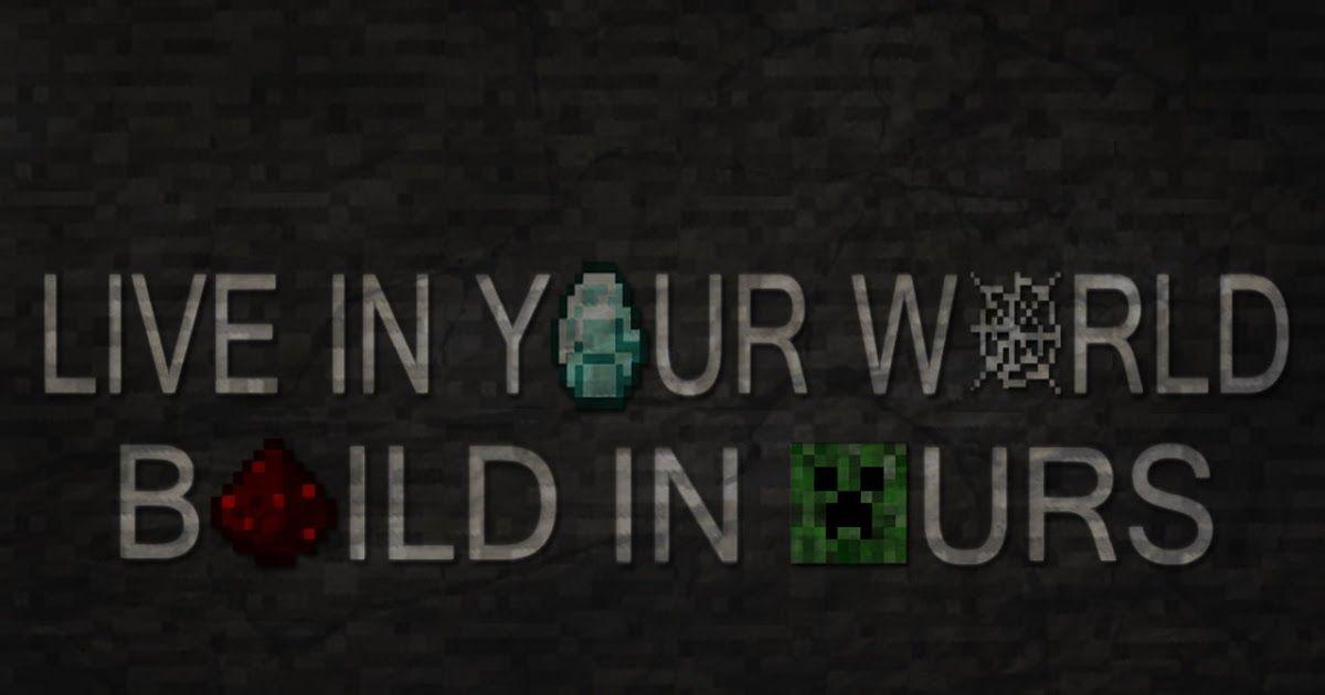 Quotes Wallpaper Generator Minecraft Wiki Redstone