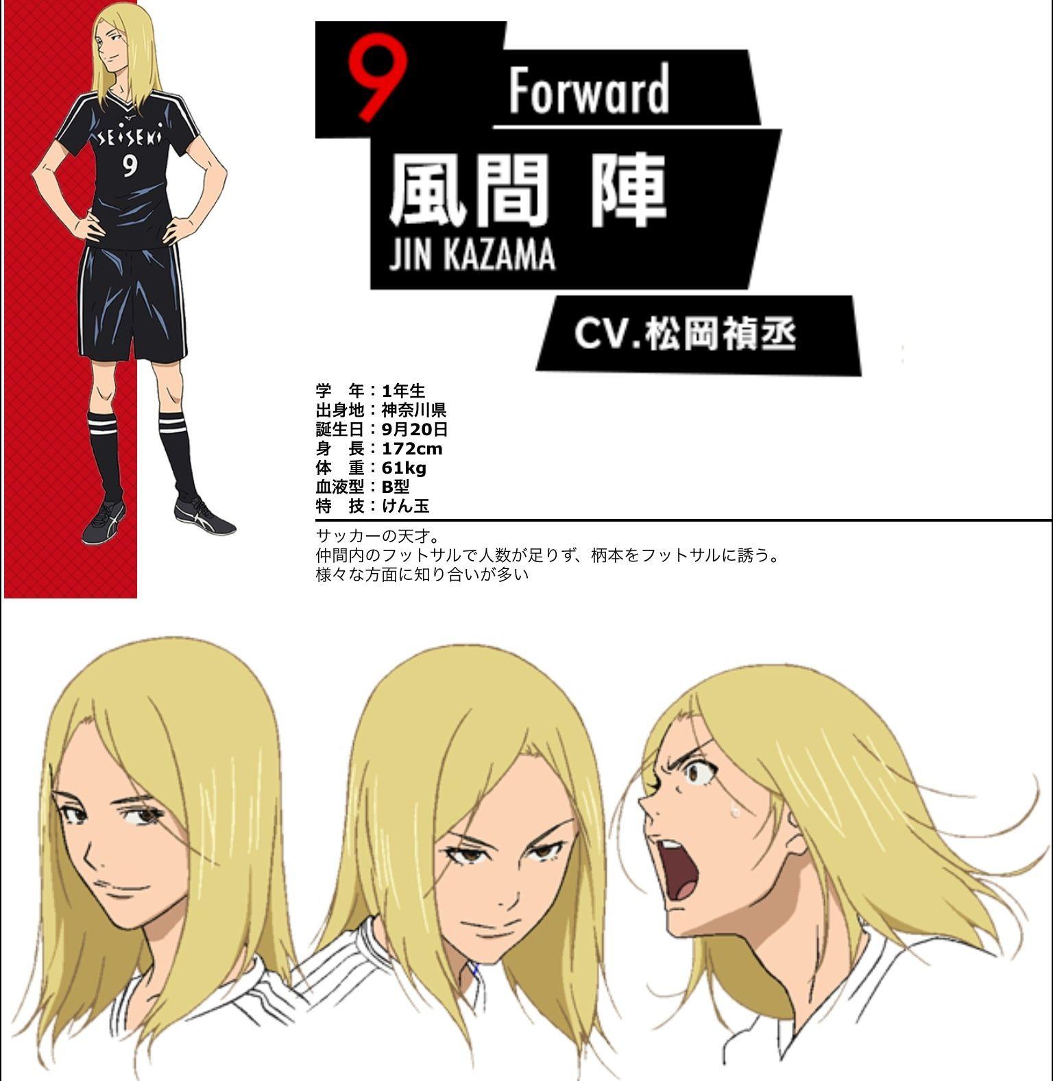 Kazama Jin DAYS Pinterest Anime, Character profile