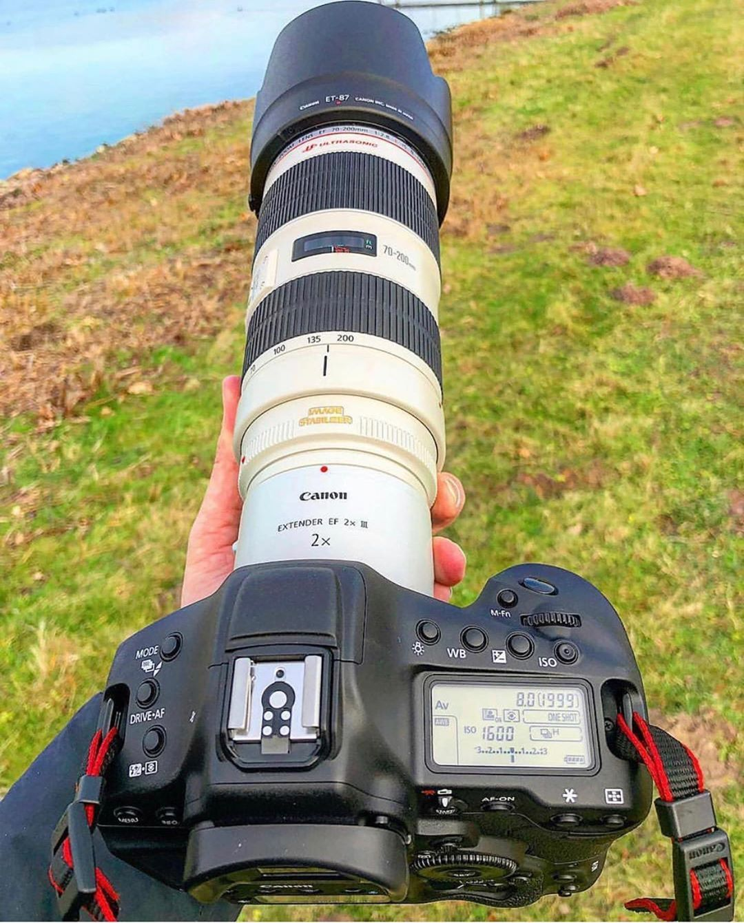 Canon 1dx Mkii With A Canon 70 200mm F 2 8 2x Extender Fotograf Makinesi Fotograf Makineleri Objektif