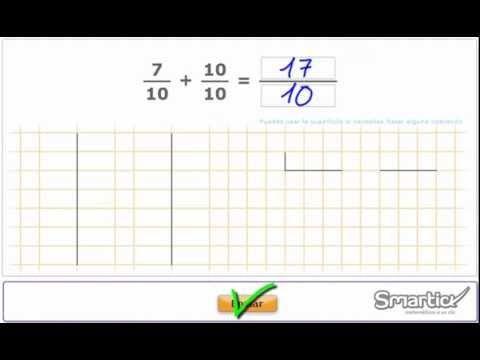 Tutorial sobre sumar y restar #fracciones. #maths